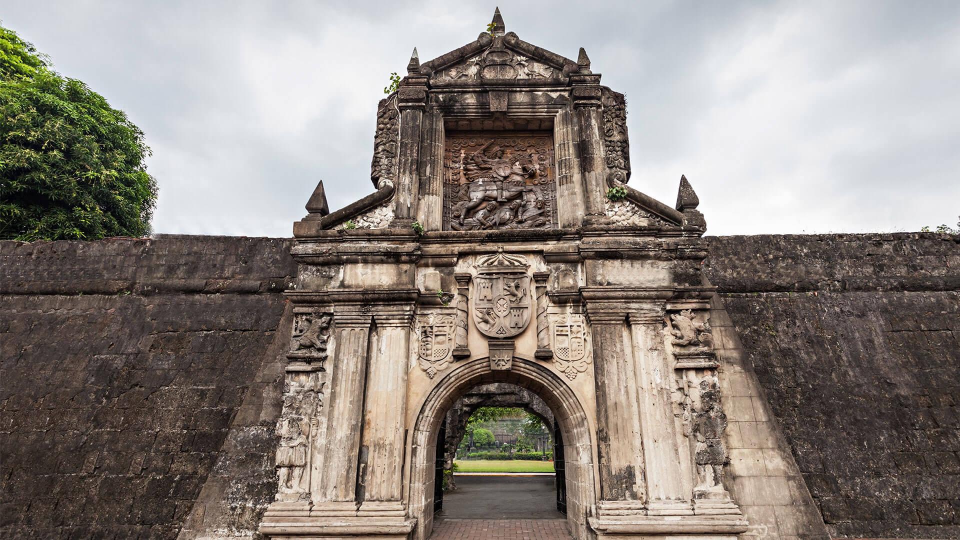 Fuerte de Santiago, Filipinas