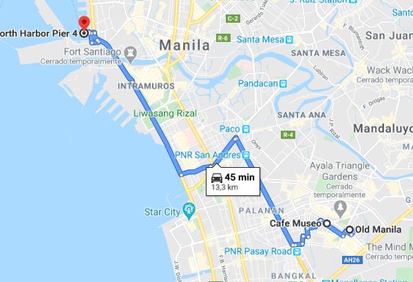 viajar a Manila en 3 días