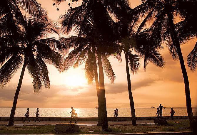 Baywalk, Filipinas