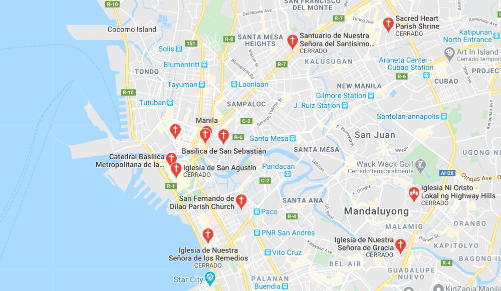 Dónde está Iglesias barrocas de Filipinas, Filipinas