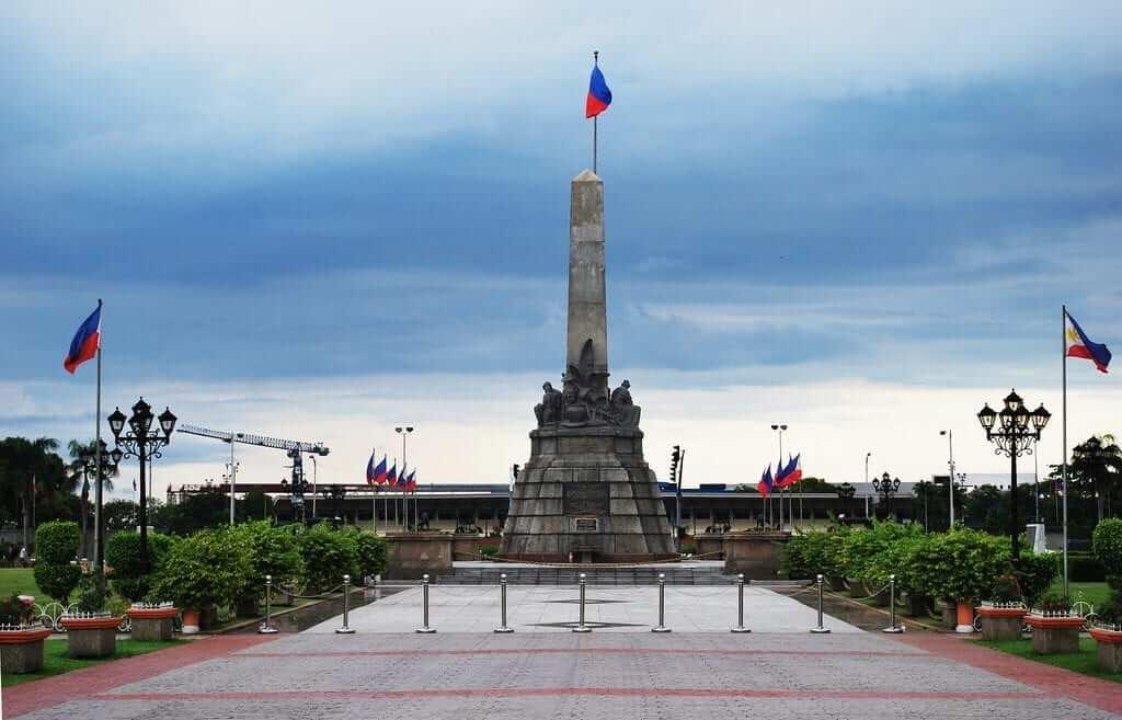 Parque Rizal, Filipinas