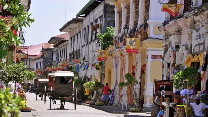 Vigan en Filipinas