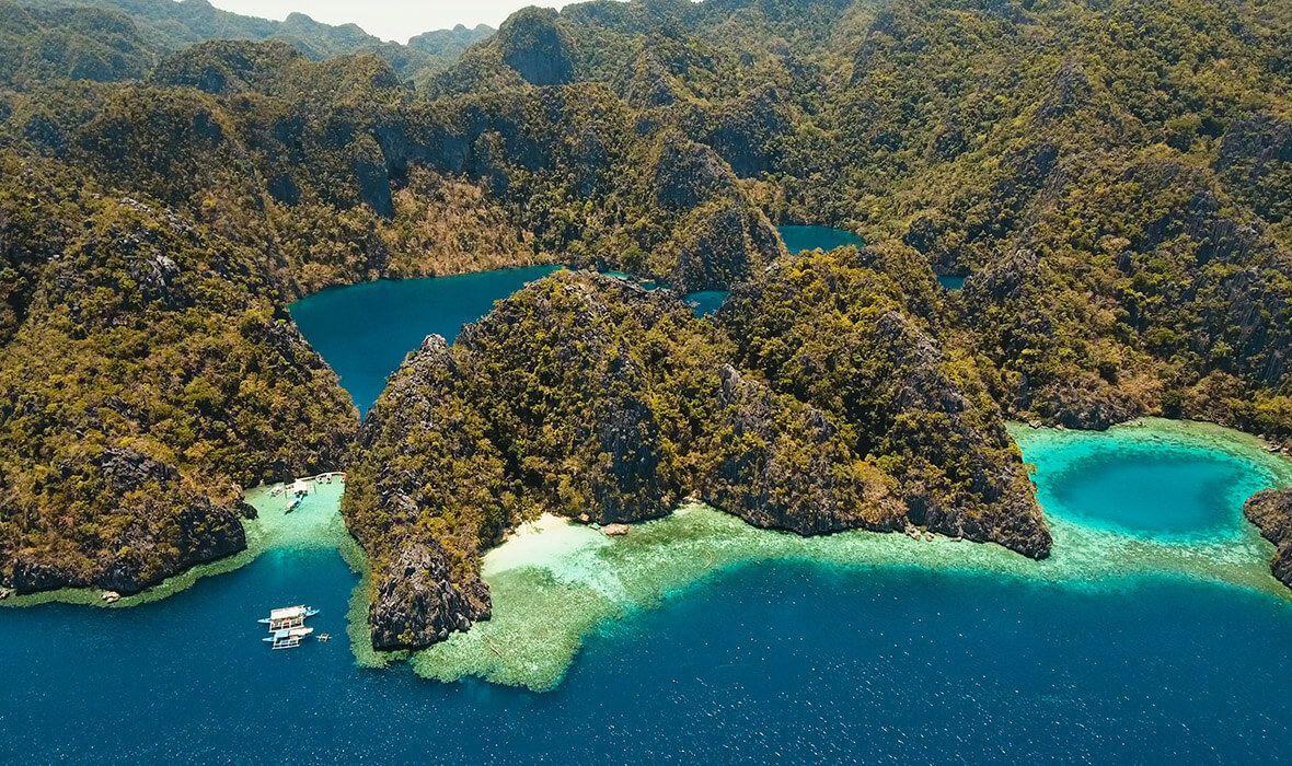 Barracuda Lake, Filipinas