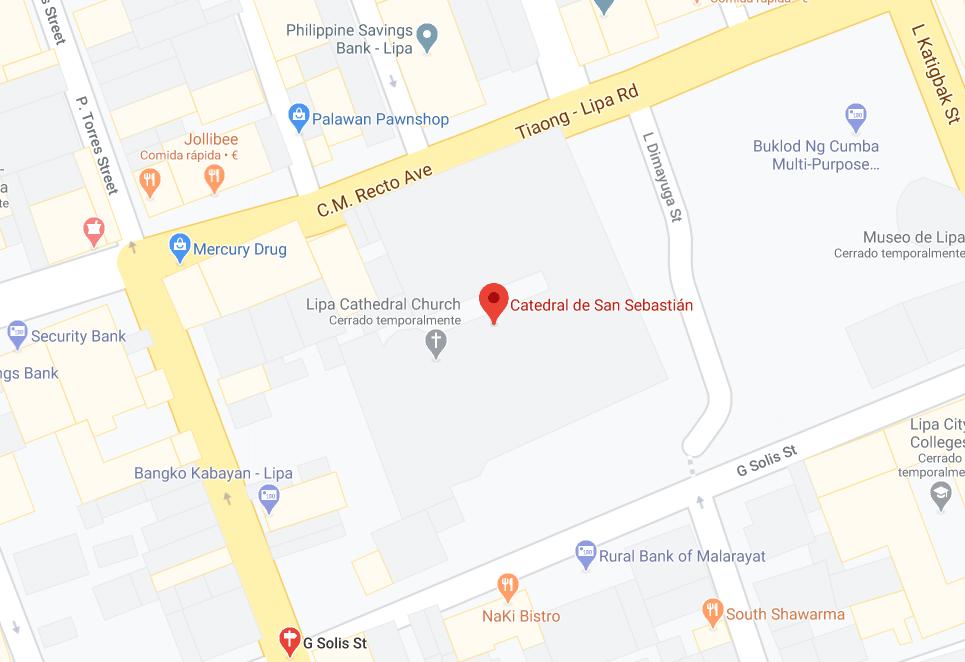 Dónde está Catedral de San Sebastián, Filipinas
