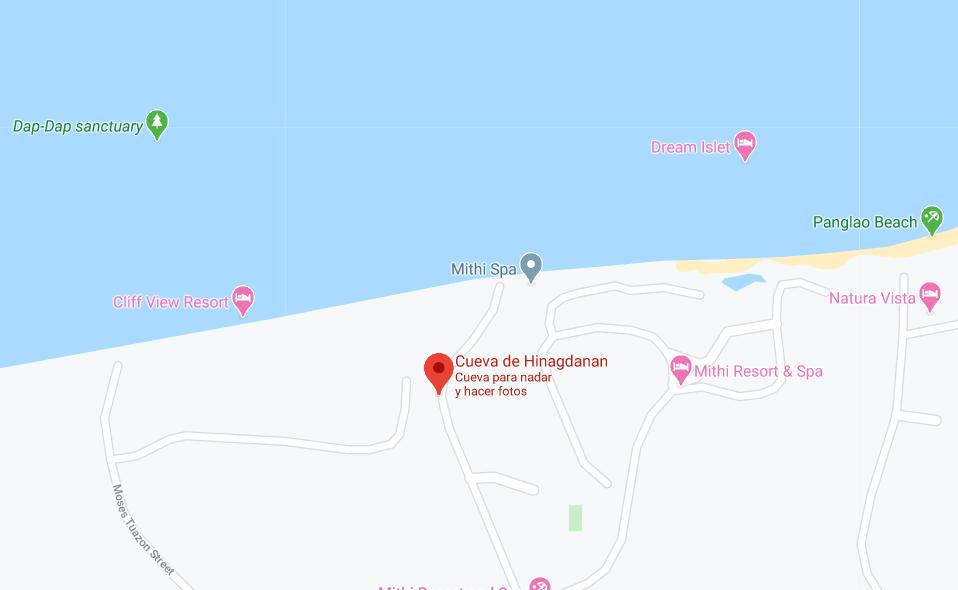 Dónde está Cueva de Hinagdanan, Filipinas