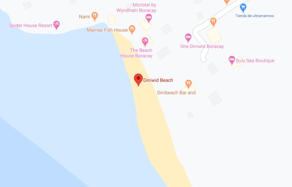 Dónde está Diniwid Beach Road, Filipinas