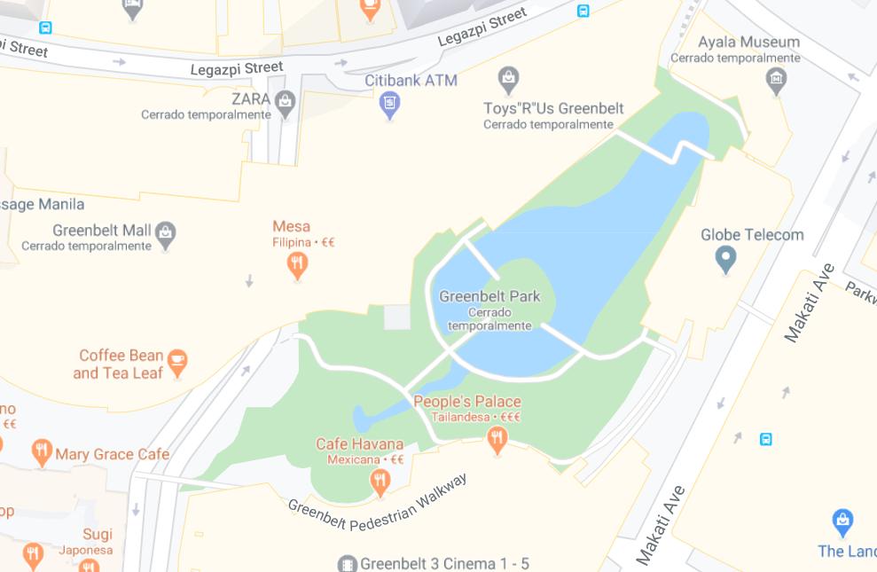 Dónde está Greenbelt Park, Filipinas