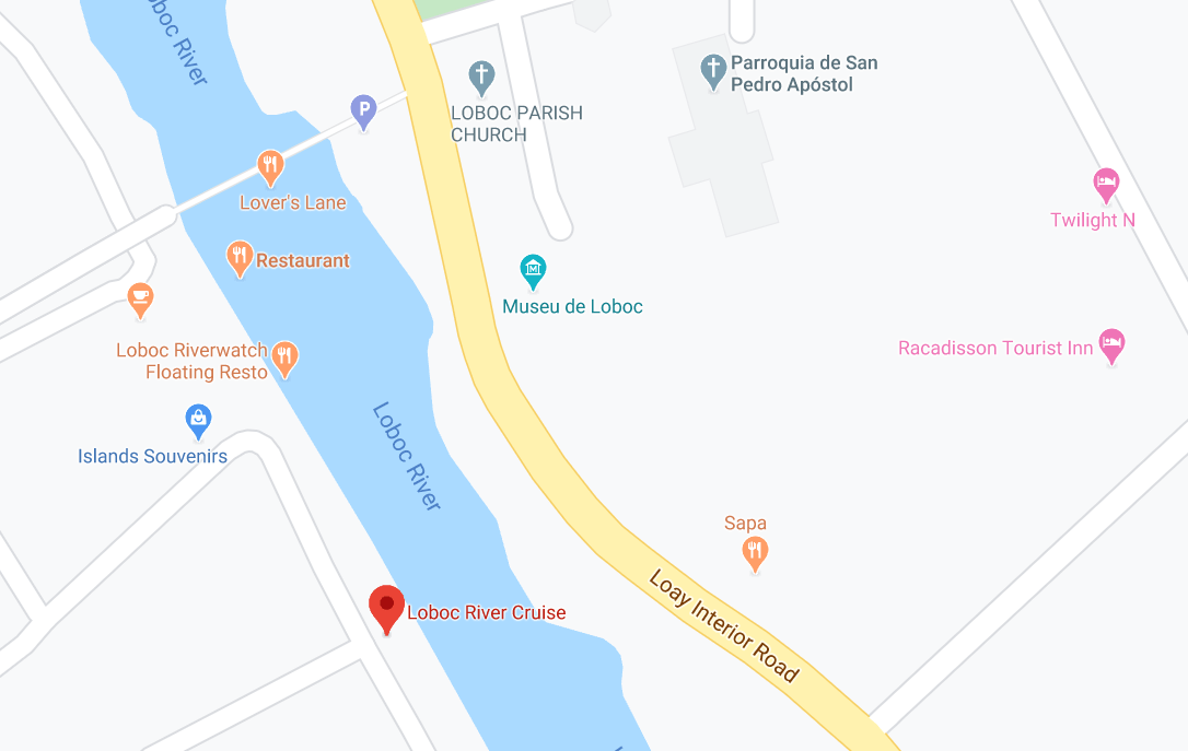 Dónde está Loboc River Cruise, Filipinas
