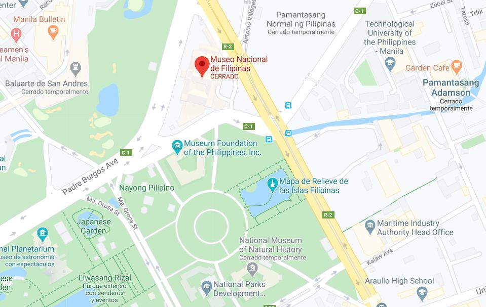 Dónde está Museo Nacional del Pueblo Filipino, Filipinas