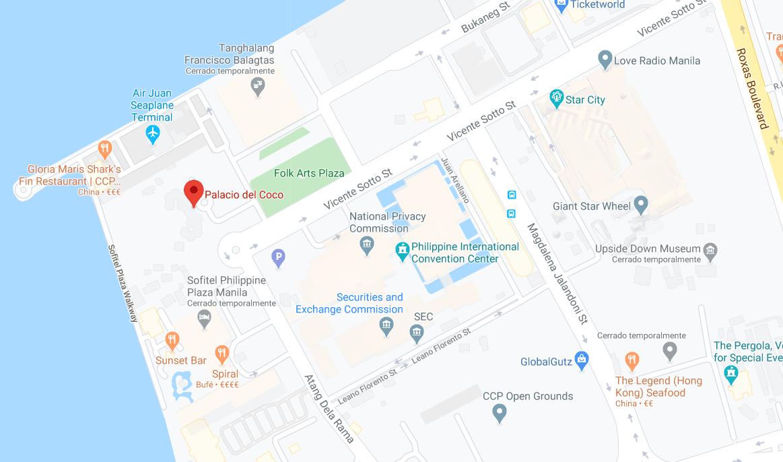 Dónde está Palacio del Coco, Filipinas