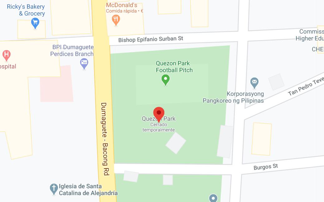 Dónde está Parque de Quezon, Filipinas