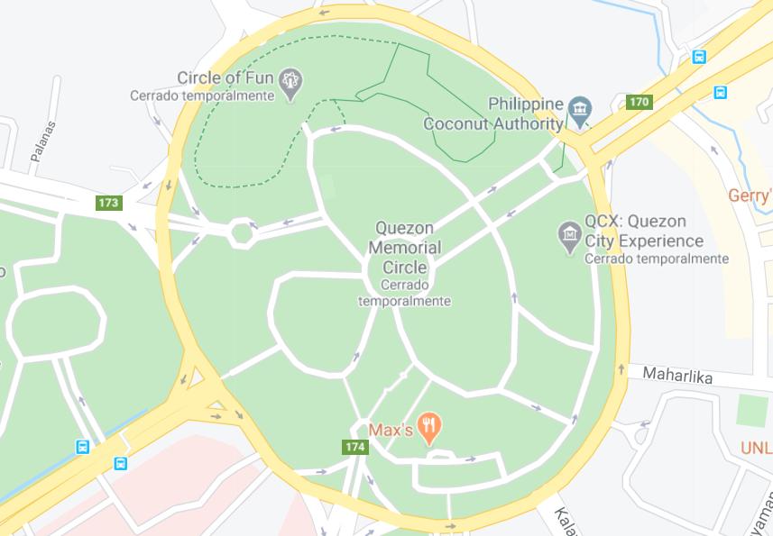 Dónde está Círculo memorial a Quezón, Filipinas