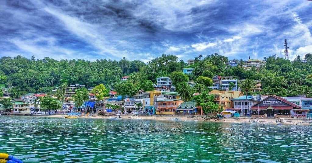 Puerto Galera en Filipinas