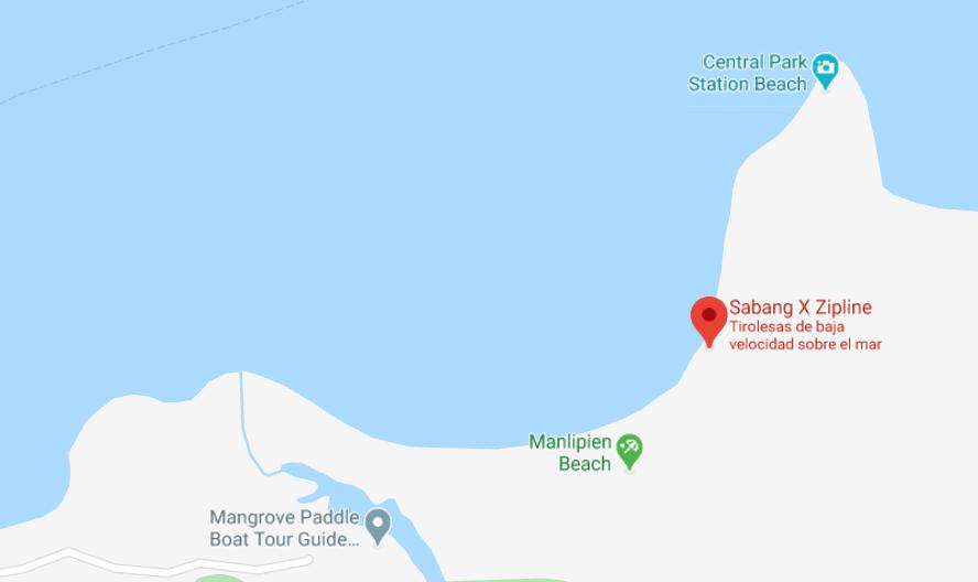 Dónde está Sabang X Zipline, Filipinas
