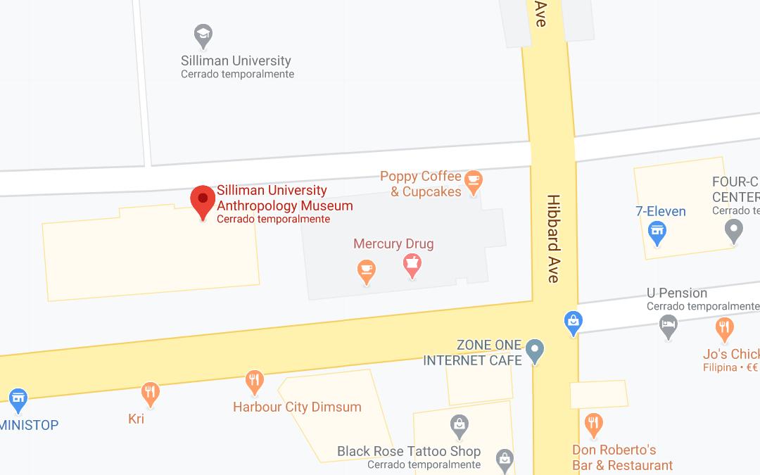 Dónde está Silliman University Anthropology Museum, Filipinas