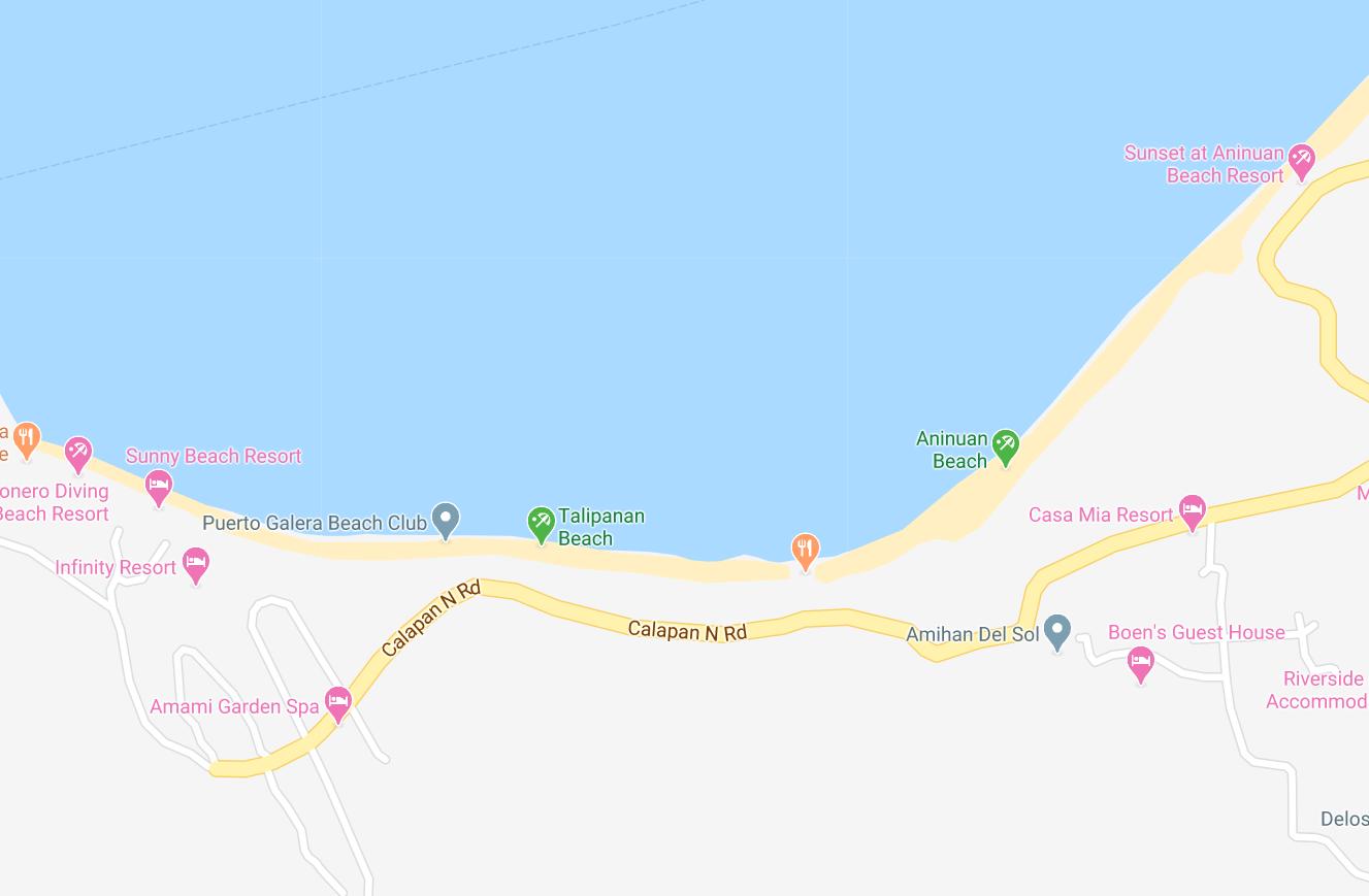 Dónde está Talipanan Beach, Filipinas