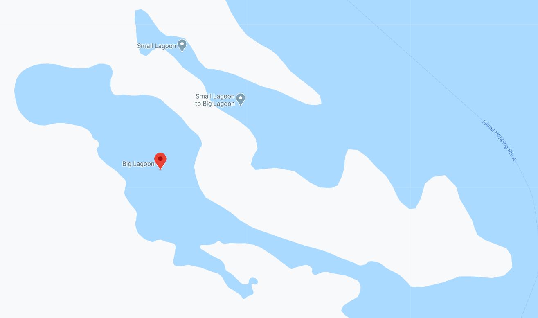 Dónde está Big Lagoon, Filipinas