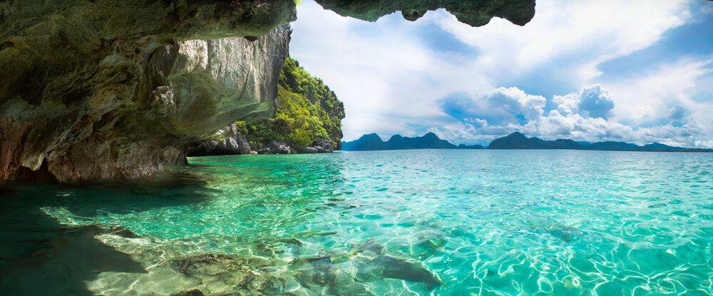 Isla de Palawan en Filipinas