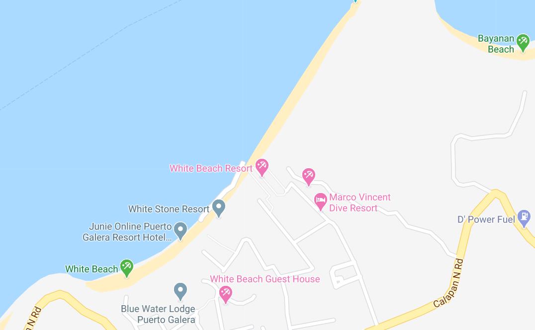 Dónde está White Beach, Filipinas