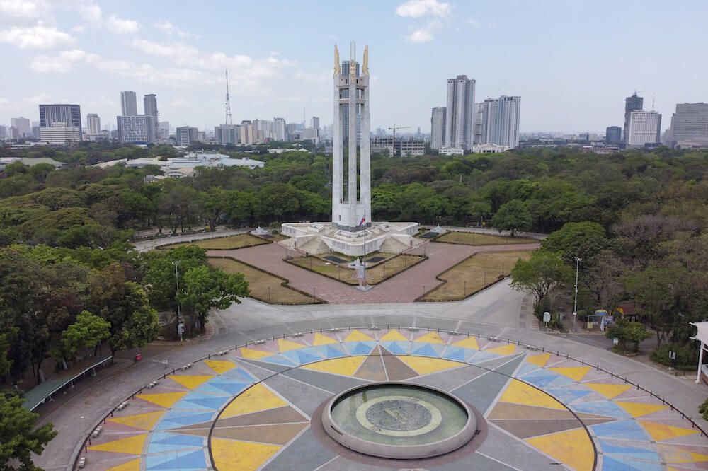 Ciudad Quezón en Filipinas