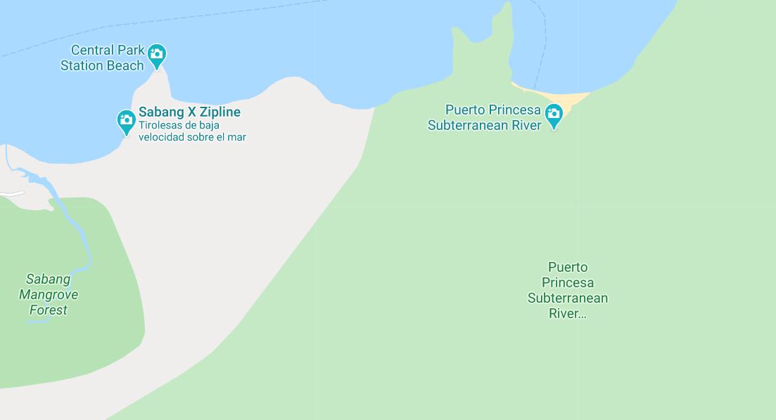 Dónde está Puerto Princesa Subterranean River, Filipinas