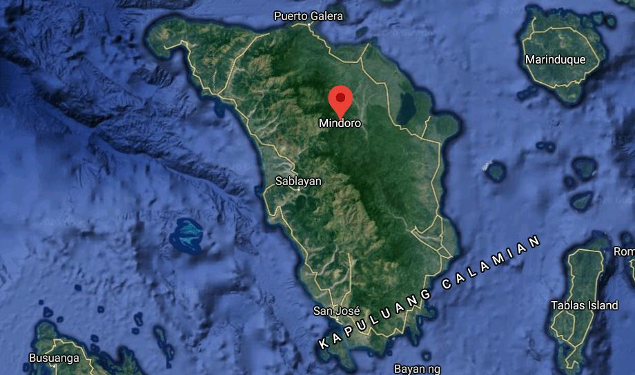 Mapa turístico de Mindoro