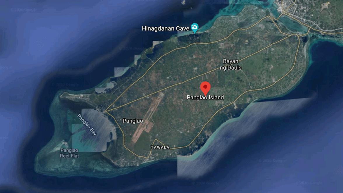 Mapa turístico de Panglao