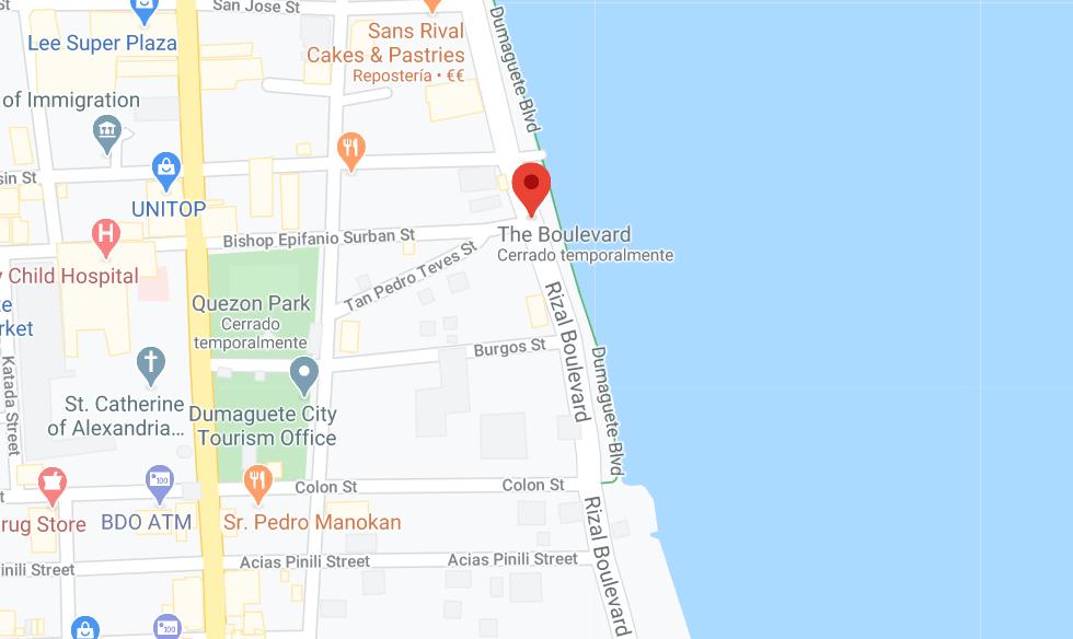 Dónde está Rizal Boulevard, Filipinas