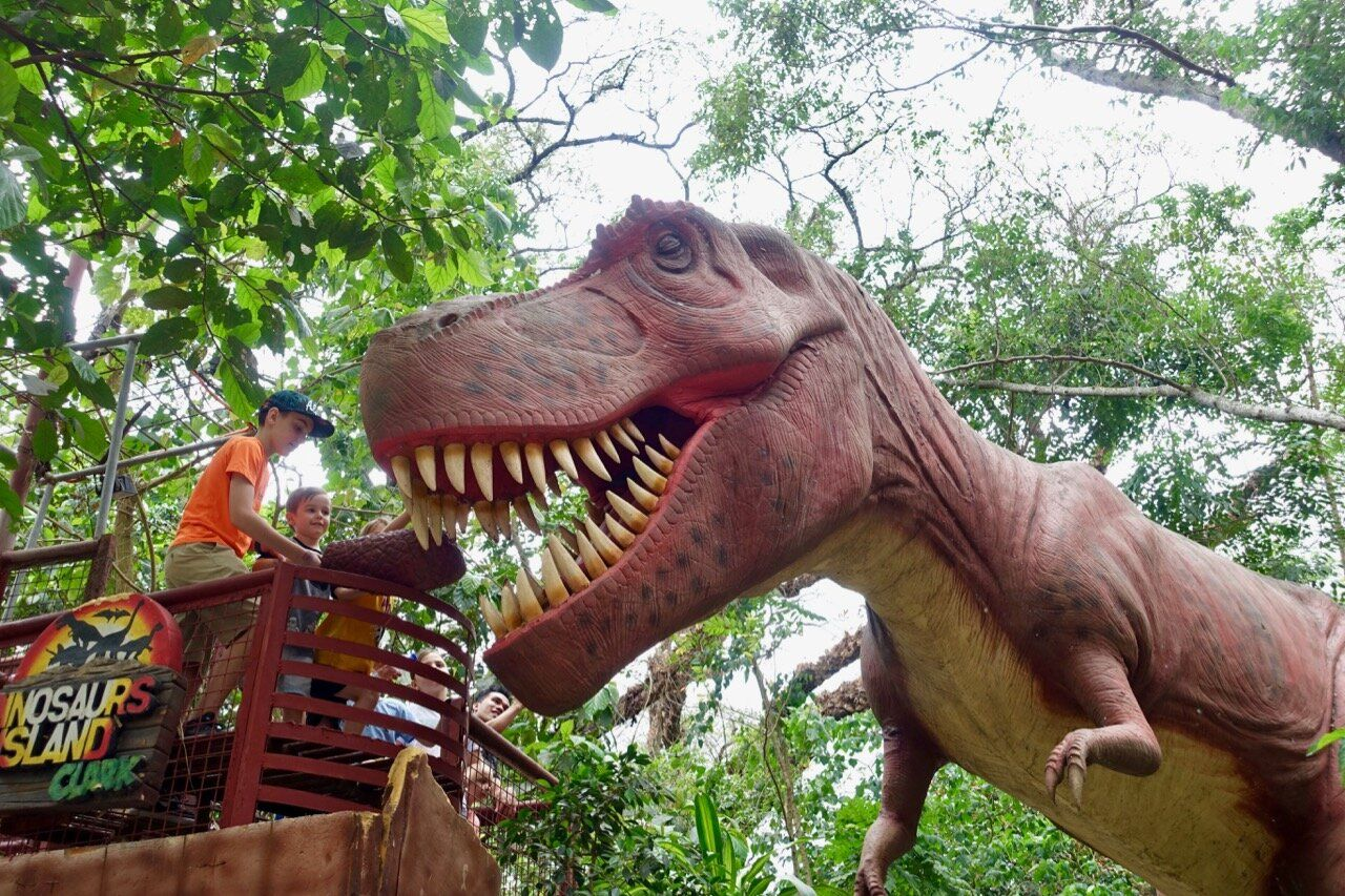 Dinosaurs Island en Ángeles, Filipinas