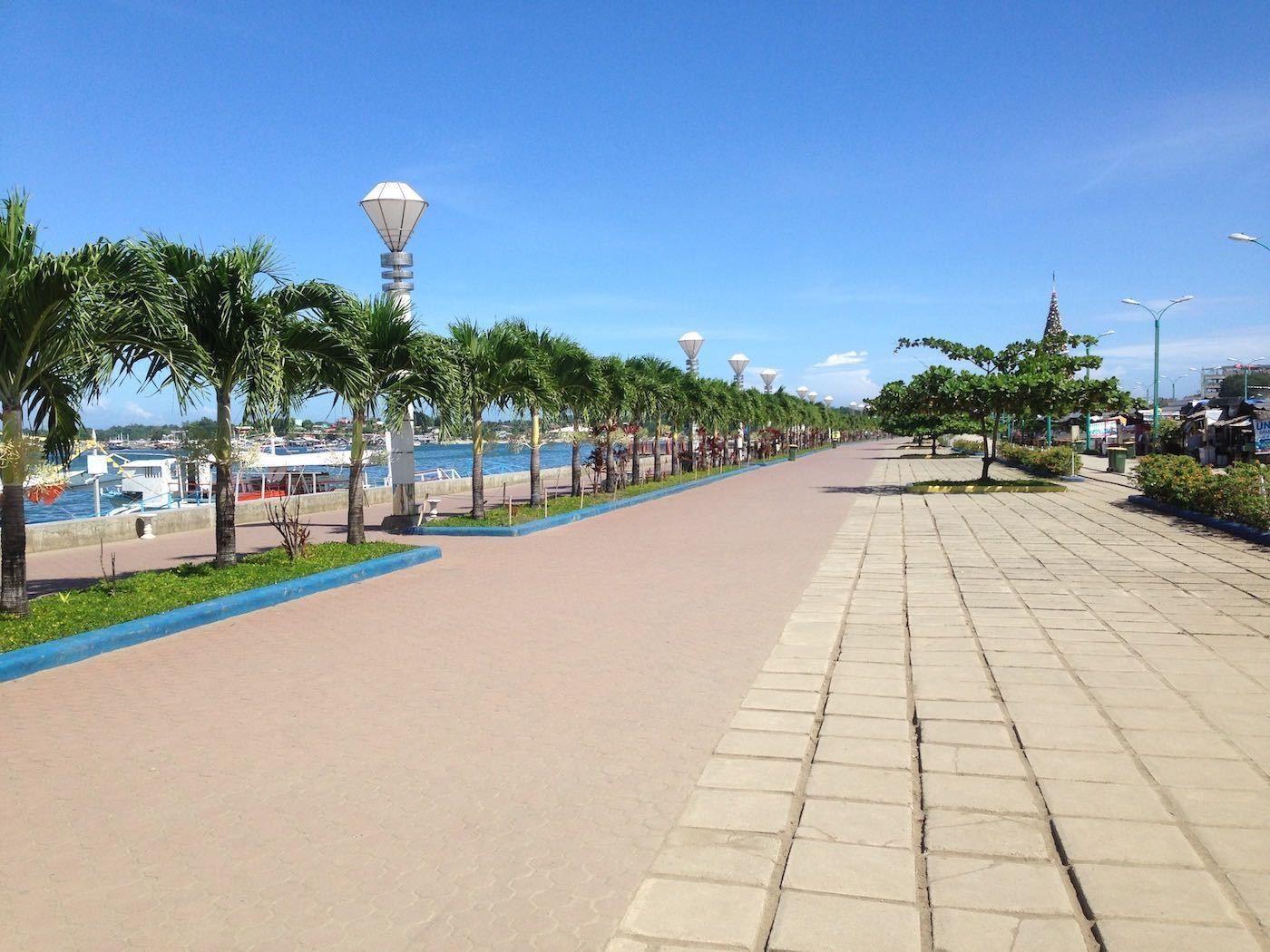 Puerto Princesa City Baywalk Park en Bahía Honda