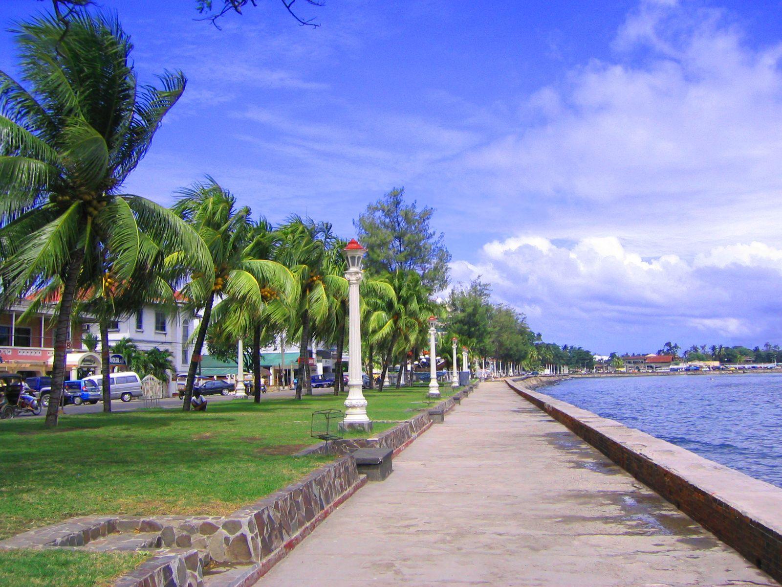 Rizal Boulevard en Dumaguete