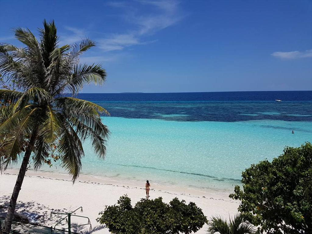 Dumaluan Beach en Panglao, Filipinas