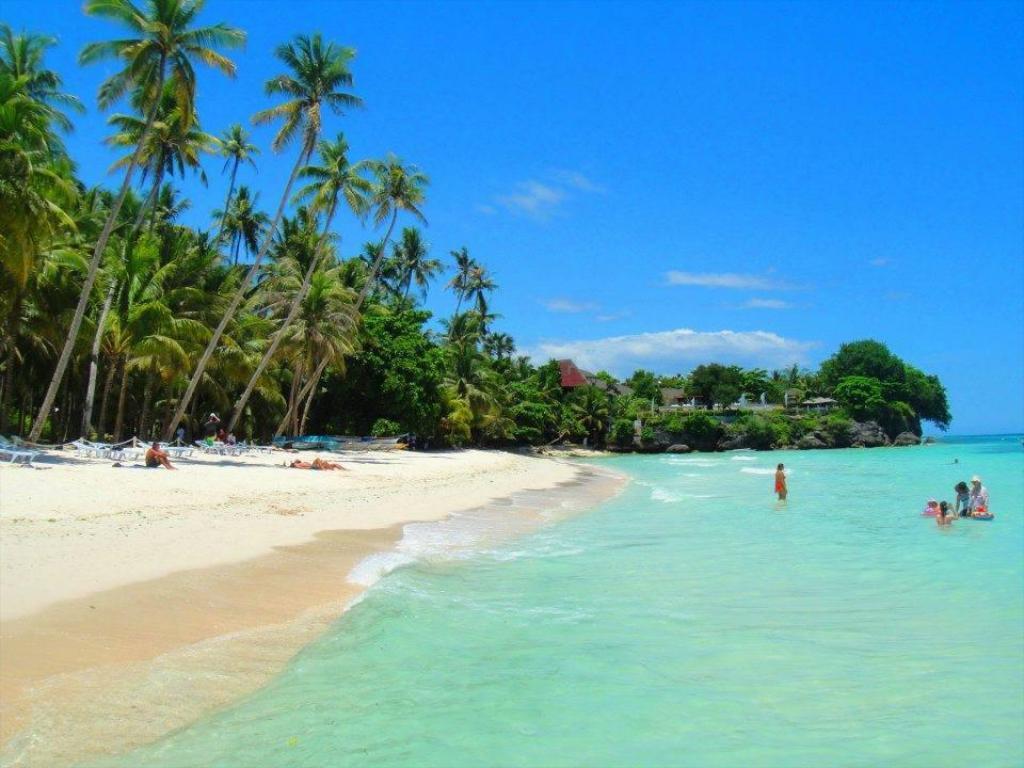 Alona Beach en Filipinas